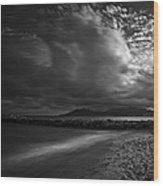 Beach 37 Wood Print