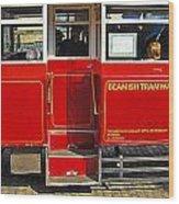 Beamish Tramways Wood Print
