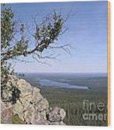 Beautiful Mountain Landscape  Wood Print
