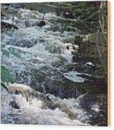Beaver Brook Wood Print