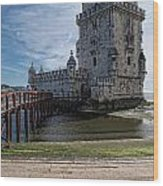Belem Tower Wood Print
