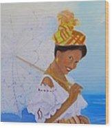 Belle Creole Wood Print