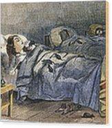 Bellevue Hospital, 1860 Wood Print