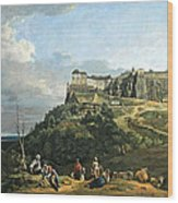 Bellotto's The Fortress Of Konigstein Wood Print