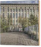 Berghain Club In Berlin Wood Print
