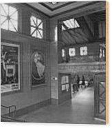 Berlin Train Station Wood Print