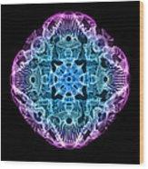 Beta Brainwave Wood Print