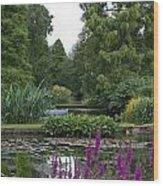 Beth Chatto Gardens Wood Print