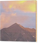 Beuna Vista Colorado Wood Print