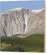 Big Horn Mountains  Wood Print