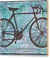 Bike 8 Wood Print by William Cauthern