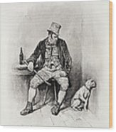 Bill Sykes And His Dog, From Charles Wood Print