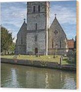 Bisham Church Wood Print