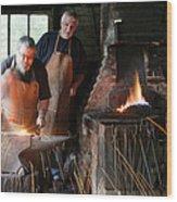 Blacksmith Wood Print by Stephen Norris