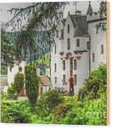 Blair Castle Wood Print