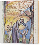 Blake: Songs Of Experience Wood Print
