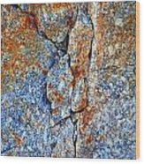 Bleeding Stone Wood Print