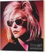 Blondie Debbie Harry Wood Print