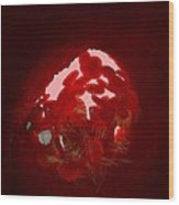 Blood Clot, Artwork Wood Print