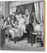 Blood Transfusion, 1874 Wood Print