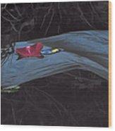 Blossom Rain 27 Wood Print