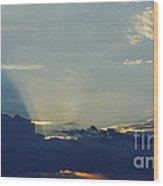 Blu-ray Sunset 2 Wood Print