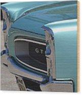 Blue Gto Wood Print