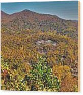 Blue Ridge Parkway Wood Print