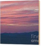 Blue Ridge Parkway Virginia Wood Print