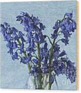 Bluebells 1 Wood Print