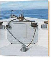 Boat Bow Wood Print