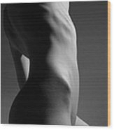 Bodyscape Wood Print by Joe Kozlowski