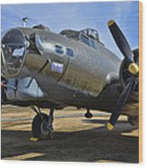 Boeing B-17g Flying Fortress Wood Print