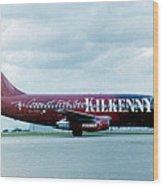 Boeing B737-200 Wood Print