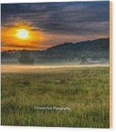 Bohannon Farm  Wood Print by Paul Herrmann