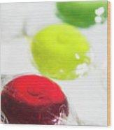 Boiled Sweets Wood Print