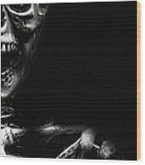 Bones Wood Print