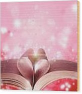Book Love Wood Print