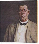 Booker T Wood Print