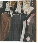 Borrassa, Llu�s 1360-1425. Altarpiece Wood Print