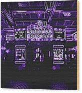 Bottleneck Blues Bar Wood Print