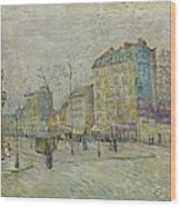 Boulevard De Clichy Wood Print