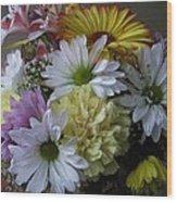 Bouquet No. 72 Wood Print