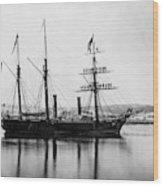 Brazilian Steamship, 1863 Wood Print