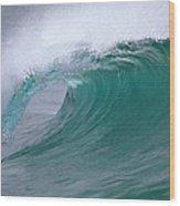 Breaking Wave North Shore Hawaii Wood Print