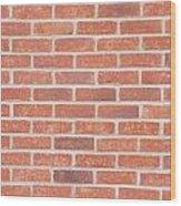 Brick Wall Wood Print