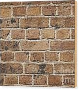 Brick Wall Wood Print