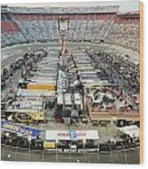 Bristol Motor Speedway Wood Print