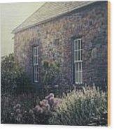 British Cottage Wood Print