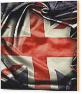 British Flag 10  Wood Print